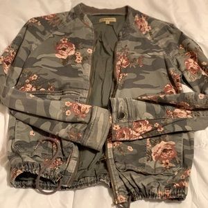Democracy Floral Camo Jacket